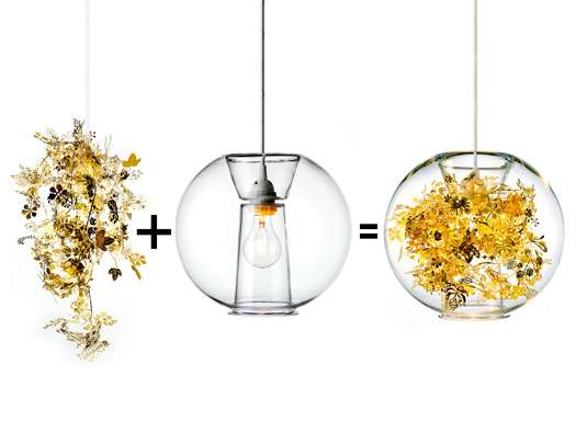 Fragile floral lighting tangle globe pendant light fragile floral lighting aloadofball Choice Image