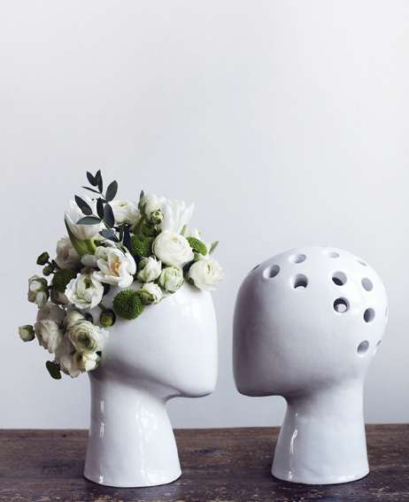 Hole-Headed Vases