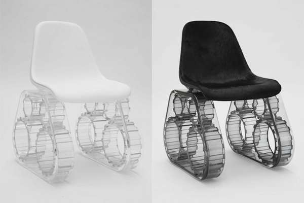 WarThemed Recliners The Tank Chair by Pharrel Williams is Bangin
