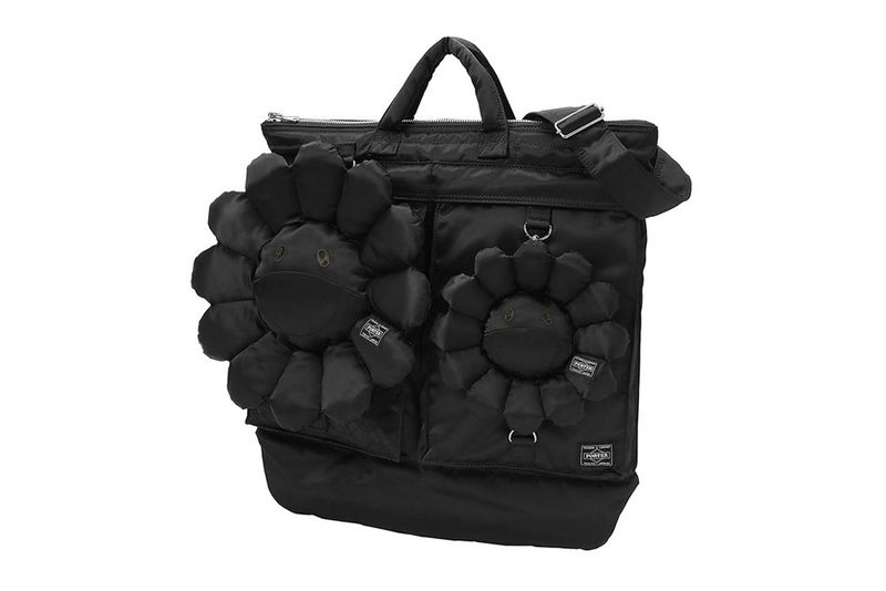 All-Black Floral Accessories