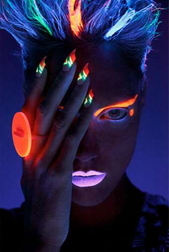 Futuristic Neon Photography