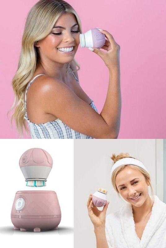 Health-Focused Handheld Skin Scrubbers