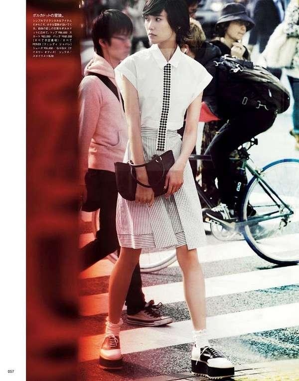 Sophisticated Schoolgirl Style