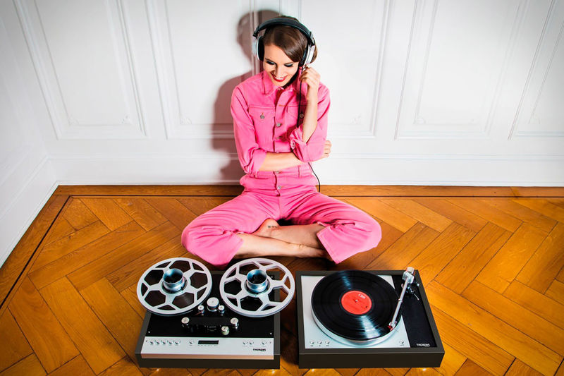 Retro Reel-to-Reel Audio Equipment