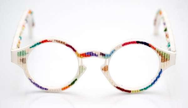 Multicolored 3D-Printed Eyewear