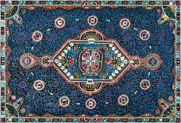 Ornate Electronic Carpets