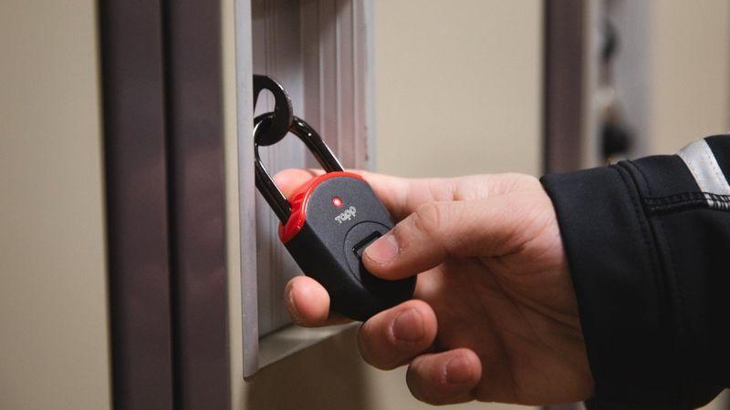 Lightweight Low-Cost Smart Padlocks