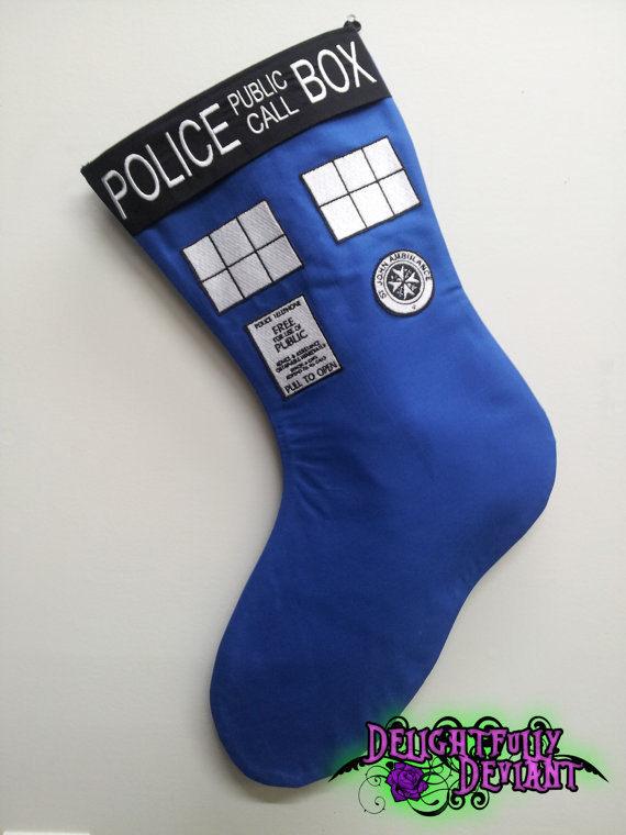 Space Ship Christmas Stockings