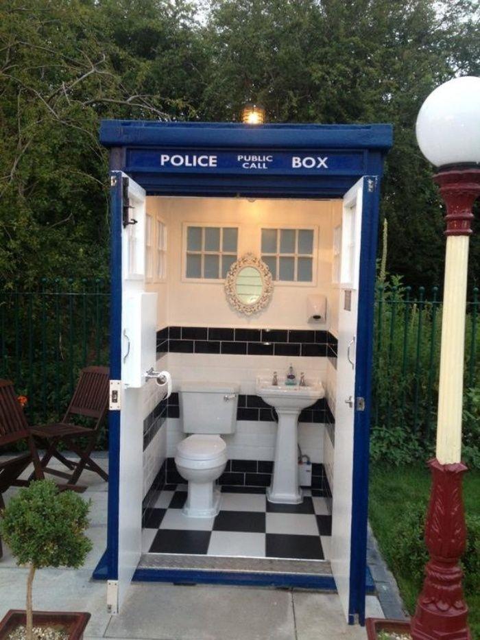 Portable Toilets TARDIS Toilet