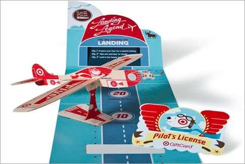 Model Airplane Shopping Cards