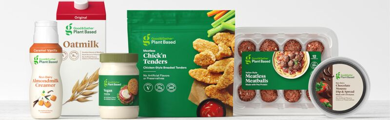 Plant-Based In-House Food Ranges