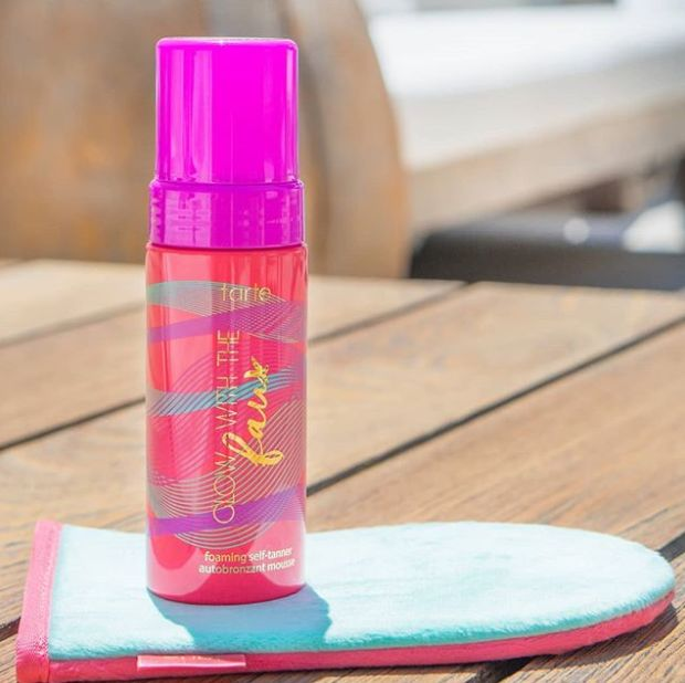 Foaming Express Self-Tanners