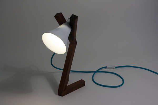 Y-Shaped Desk Lights
