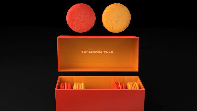 Credit Card Brand Macarons