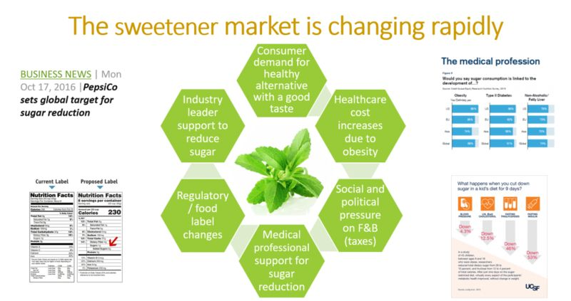 Non-GMO Stevia-Based Platforms