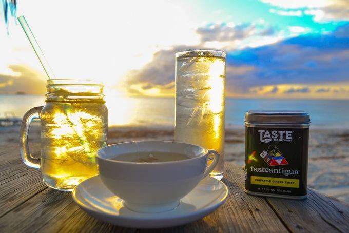 Caribbean-Flavored Teas