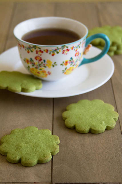 Calming Green Tea Cookies