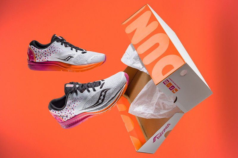 Donut-Inspired Sneakers