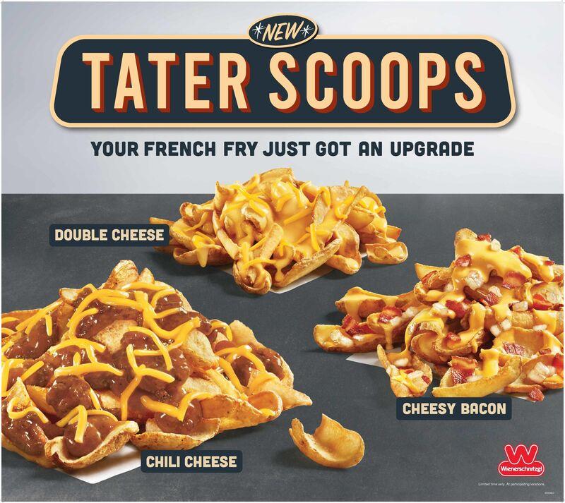 Scoop-Shaped Potato Snacks