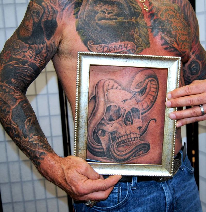 Postmortem Preserved Tattoos