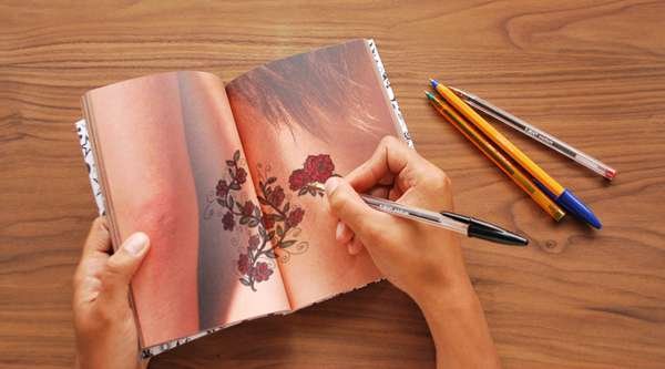 Body Part Drawing Books