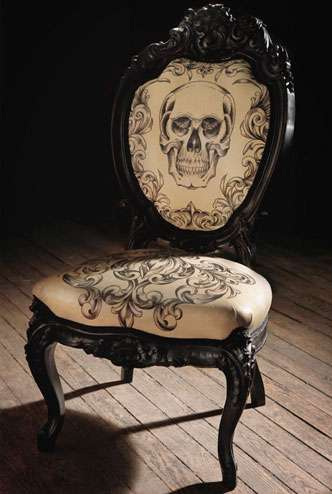 Tattooed Furniture