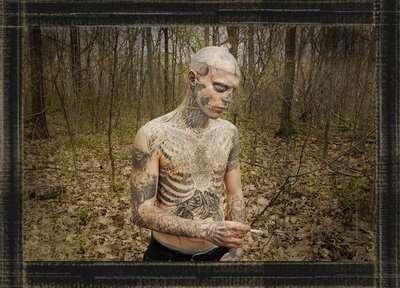 Full-Body Zombie Tattoos