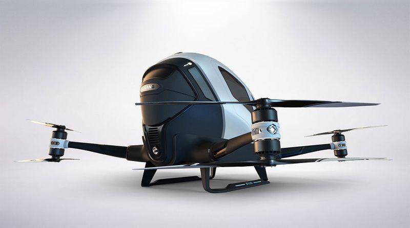 Carbon Fiber Taxi Drones
