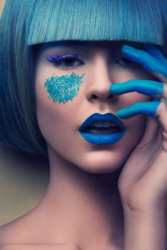 Candy-Coated Beauty Photoshoots
