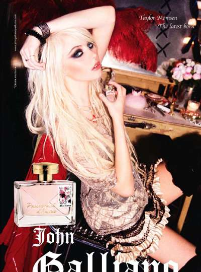 Punk Celeb Fragrance Ads