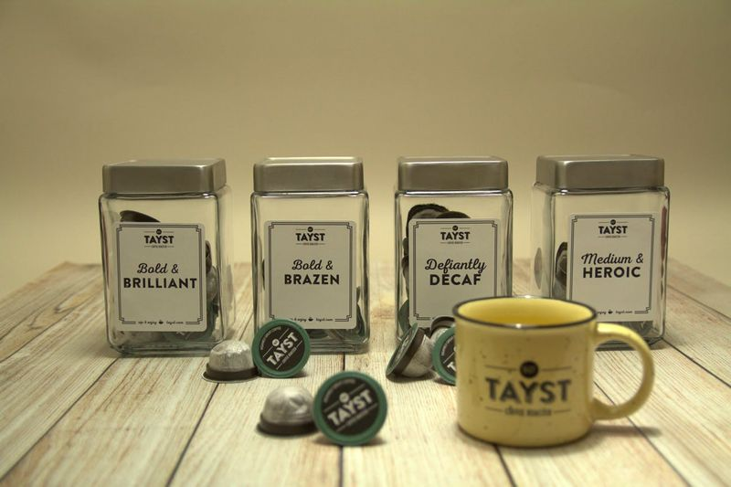 Completely Compostable Coffee Pods