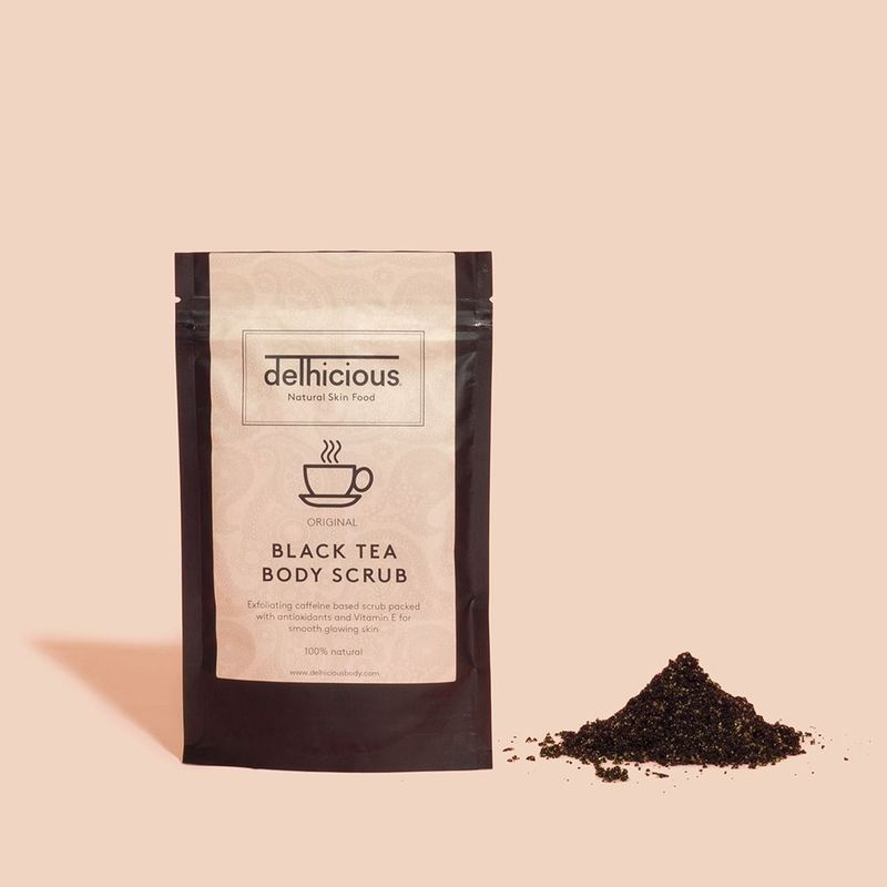 Black Tea Body Scrubs