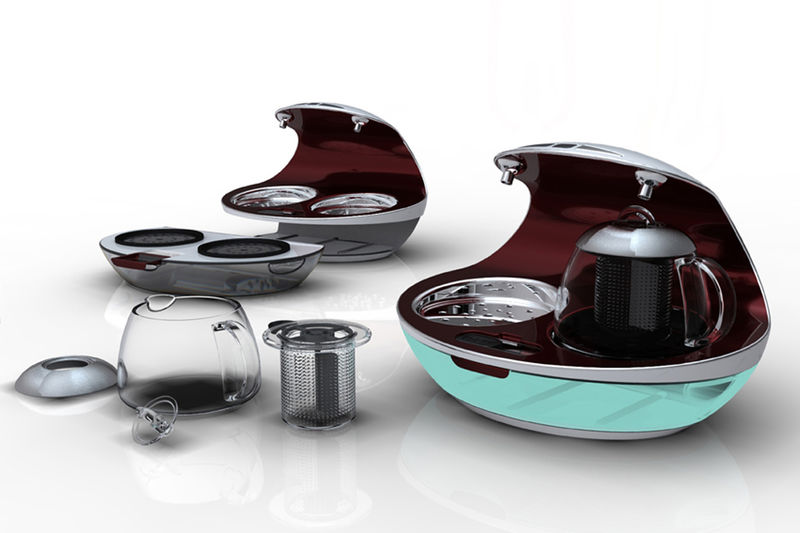 Vaporized Tea Brewers
