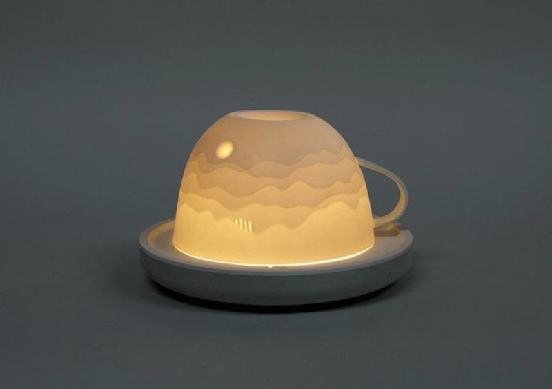 Landscape Cup Lamps
