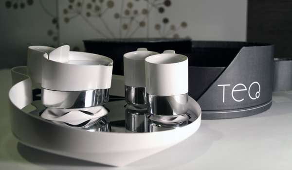 Steel-Ceramic Tea Sets
