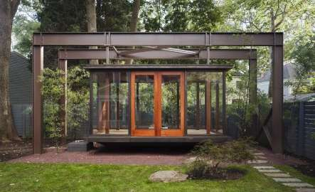 Suspended Backyard Sanctuaries Tea House By David Jameson