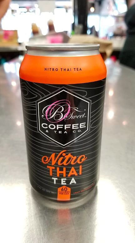 Nitrogen-Infused Thai Teas