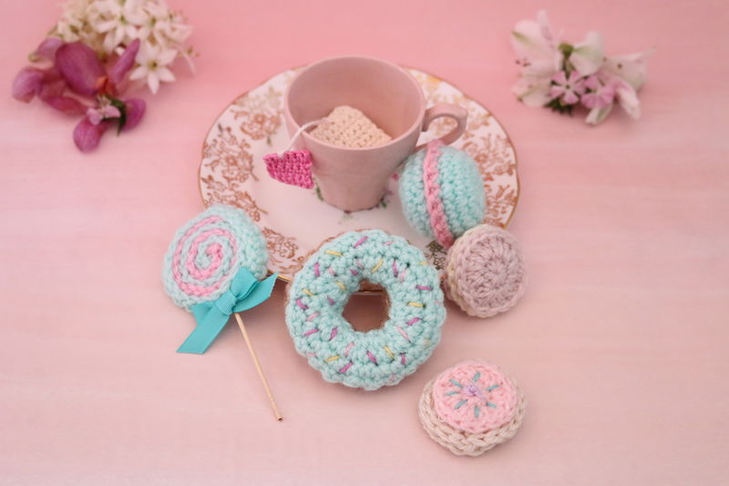 Crocheted Tea Kits