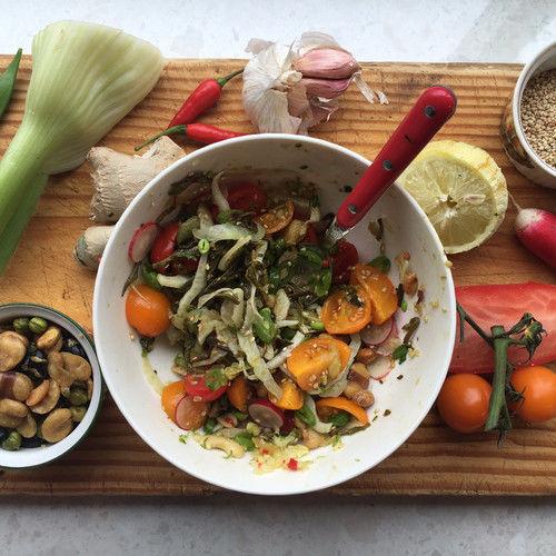 Fermented Tea Salad Kits