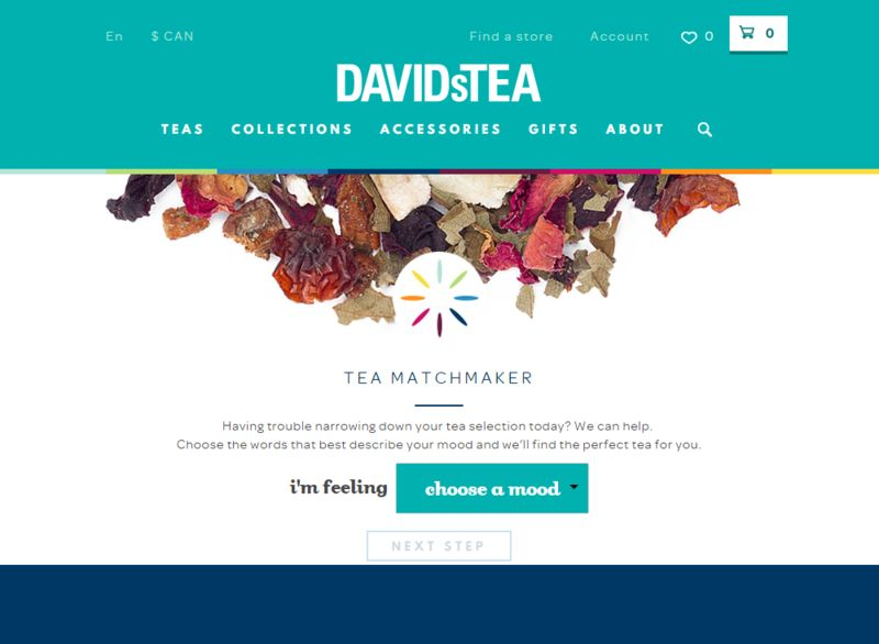 Mood-Based Tea Matchmakers