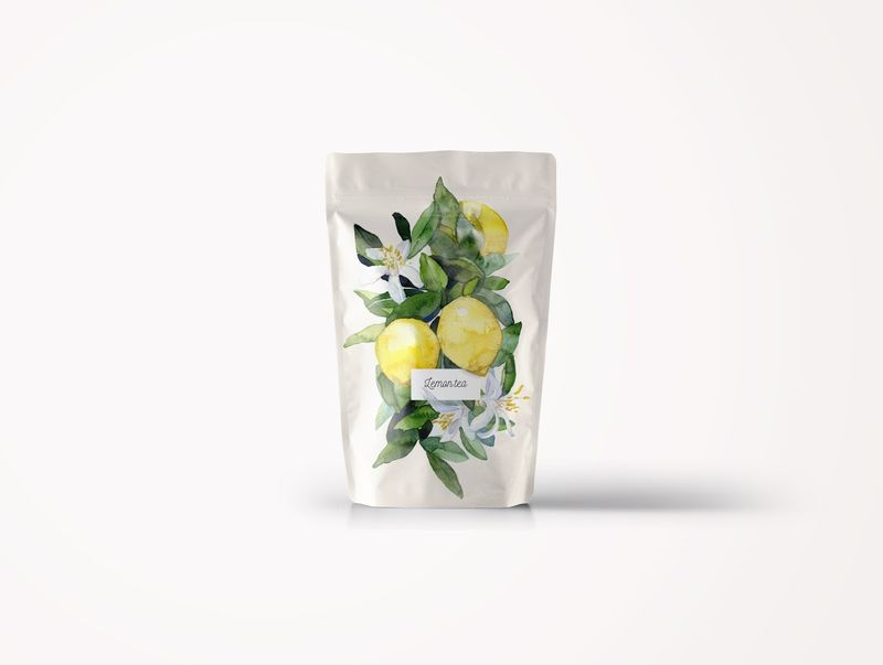 Botanical Tea Packaging Concepts