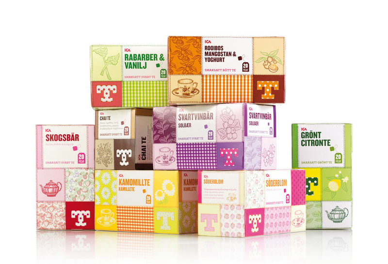 Quilted Tea Packaging