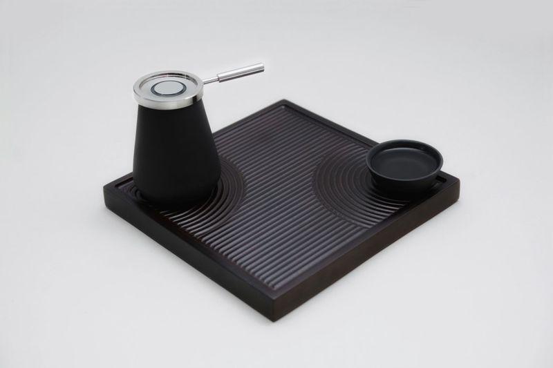Temperature-Monitoring Tea Sets