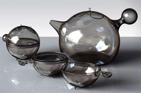 Space Age Tea Sets