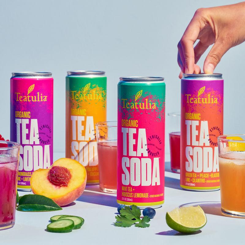 Vibrant Tea Sodas