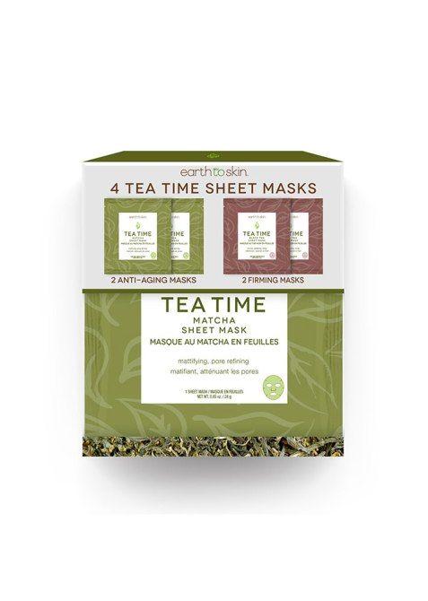 Tea-Themed Sheet Masks