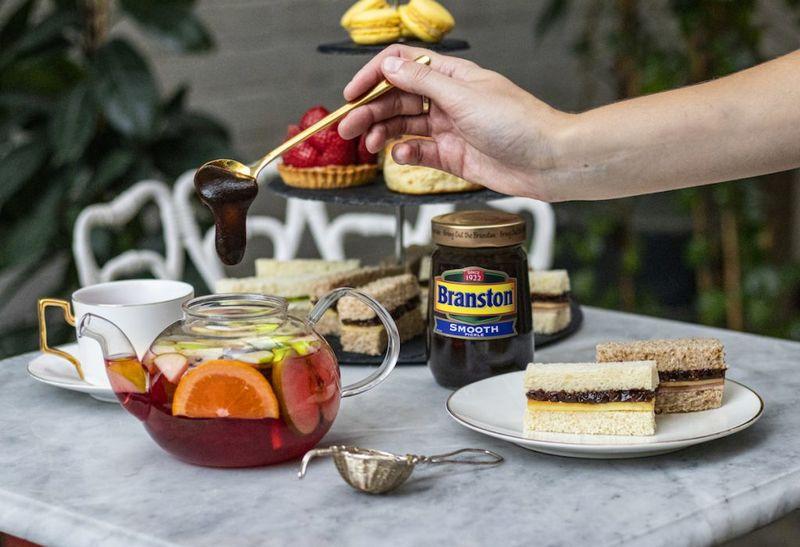 Pickle-Flavored Afternoon Teas