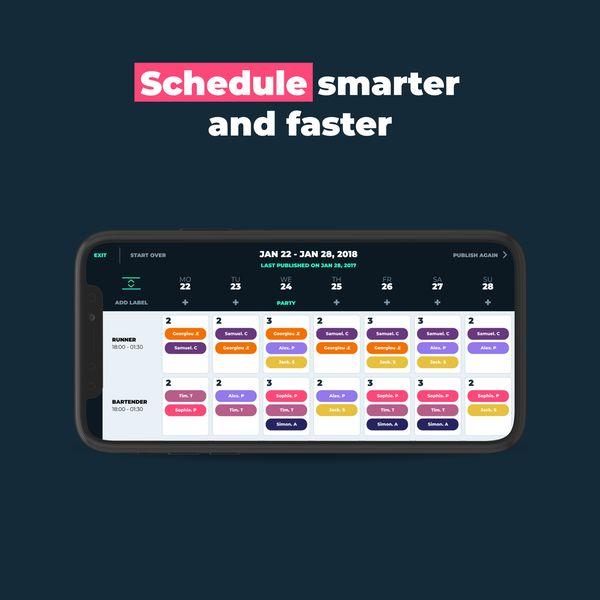 Intelligent Team Scheduling Apps