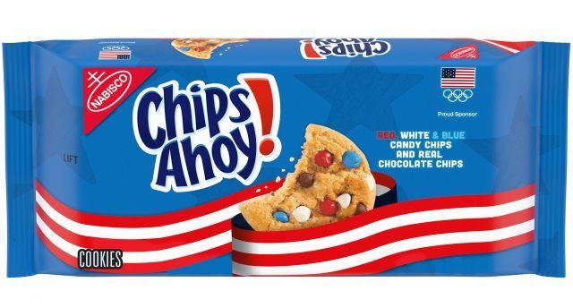 Patriotic Olympic Cookies
