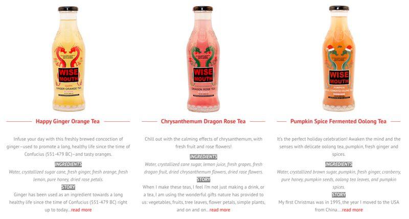 Remedy-Based Bottled Teas